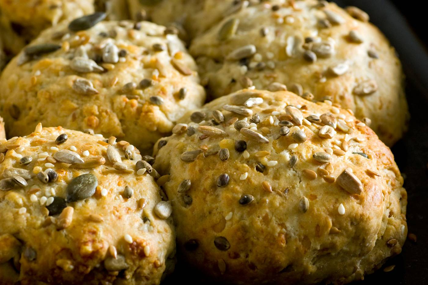 home baked scones