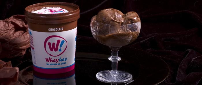 Whey Hey! Chocolate protein ice cream