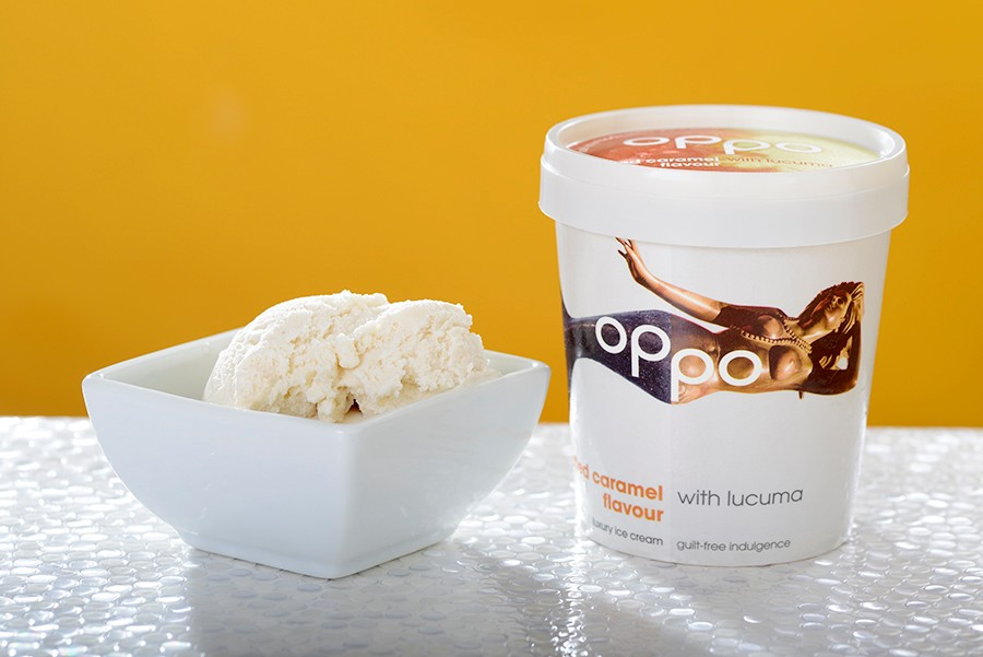 oppo salted caramel ice cream