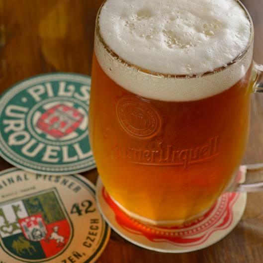 Pilsner Czech Beer