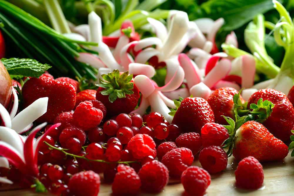 fruit and vegetable platter