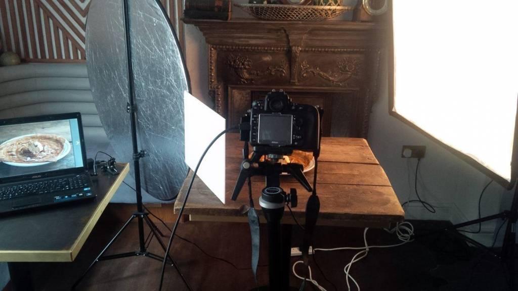 photoshoot set up