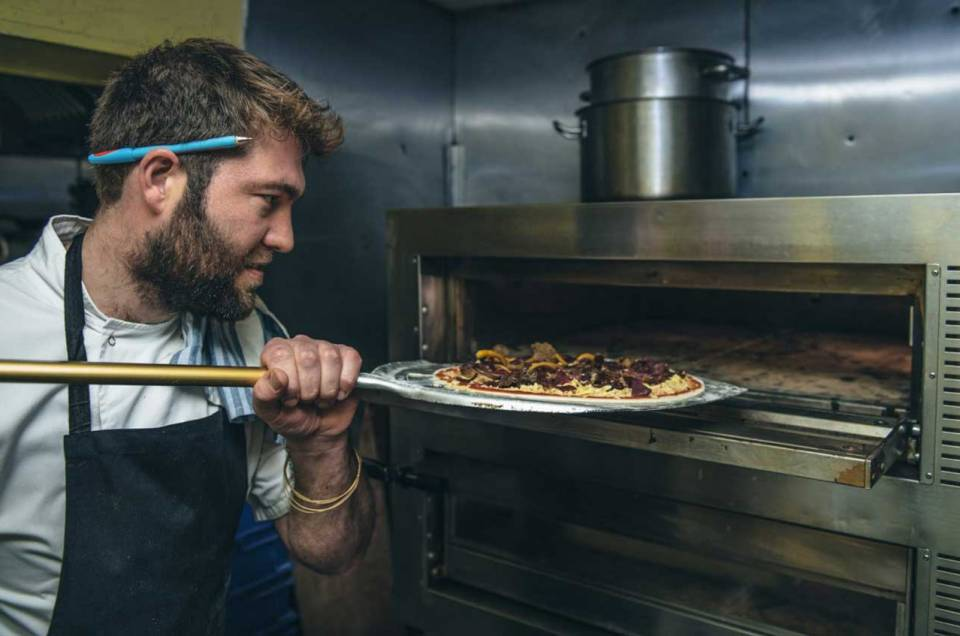 Nutty Italian Pizza Review at Bunga Bunga