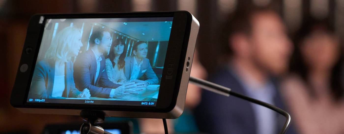 preview screen on video camera